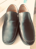 Used Men's black letter shoe in Dubai, UAE