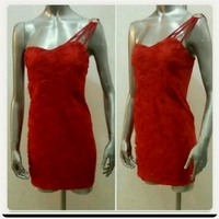 Used Brand Red Short Dress for her in Dubai, UAE