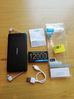 Used Super Slim Veger power bank 12000mah NEW in Dubai, UAE