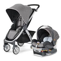 Used Chicco Bravo Trio Traveling System (stroller And Car Seat With Car Seat Base Used For One Month Only ) in Dubai, UAE