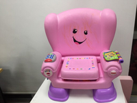 Used Baby seat with music and letters  in Dubai, UAE