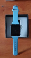 Used Smart watch ne.w blue,. in Dubai, UAE