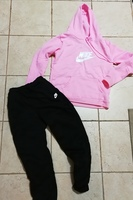 Used New pink and black training suit nike in Dubai, UAE