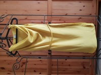 Used H&M Yellow Cowl Neck Dress with Belt in Dubai, UAE