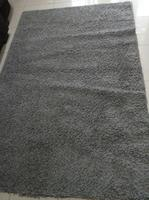 Used IKEA big size fur carpet grey colour in Dubai, UAE