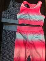 Used Souluxe Gymnastic suits set of 2 girls 6 in Dubai, UAE
