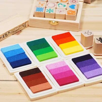 Used Set of 6 craft ink pad in Dubai, UAE
