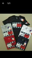 Tommy shirt any size available 5 pcs