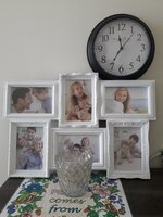 Used Photo frame, silver tumbler and clock in Dubai, UAE