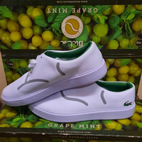 Used Rubber shoes Lacoste size 44 white color in Dubai, UAE