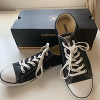 Used #Authentic Converse leather shoes 41 New in Dubai, UAE
