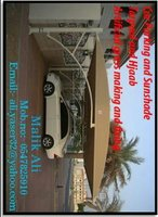 Used I am working sunshade car parking in Dubai, UAE