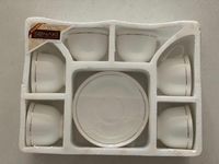 Used New 6 Pcs Cups & Saucer Set For Sale  in Dubai, UAE