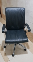 Used Office Chair @ 200 AED - Pure Leather in Dubai, UAE
