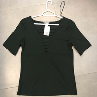 Used Dark green tshirt  in Dubai, UAE