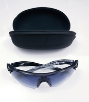 Sports Polarized Sunglasses Black gray