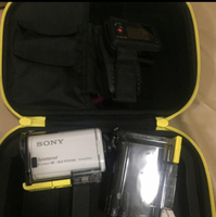 Used Preloved Sony Splash Proof Camera (same like Go Pro) All In With Extra Flat Casing  in Dubai, UAE