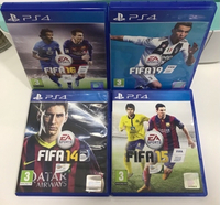 Used FIFA 14/15/16/19 (Ps4) in Dubai, UAE