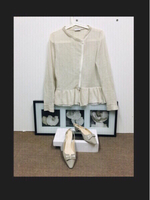 Used French Mademoiselle style top & shoe  in Dubai, UAE