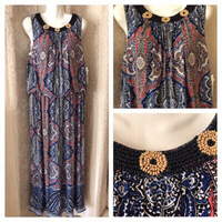 Used New summer dress 16W UK 20 in Dubai, UAE
