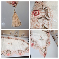 Embroidered table flag 40x200 cm