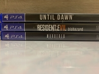 Used 3 PS4 HORROR GAMES in Dubai, UAE