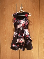 Used Zalora Floral Pouffy Party Dress XS to S in Dubai, UAE
