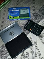Used Stamp pad and calculator in Dubai, UAE