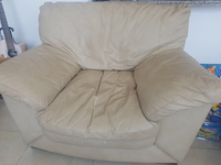 Used 5-sear Leather Couches In Great Condition For Sale  in Dubai, UAE