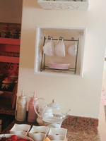 Noval carve pattern hanging storage