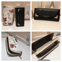 Used Floral wallet with strap + black wallet  in Dubai, UAE