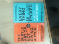 2 new book #the subtle art. #everything