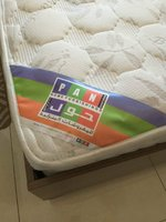 Used Bed with mattress and side tables in Dubai, UAE