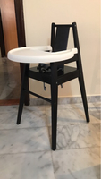 Used IKEA Wooden High Chair BLAMES in Dubai, UAE