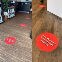 Used OFFER Social distancing floor stickers  in Dubai, UAE