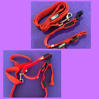 Used LED Dog Collar &Leash/ medium  in Dubai, UAE