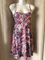 Used Summer floral dress size 40 in Dubai, UAE