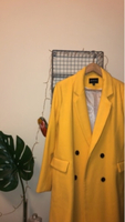 Used Stradivarius Canary Yellow Coat in Dubai, UAE