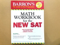 Used MATH WORKBOOK for the new SAT in Dubai, UAE