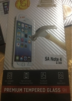 Used Tempered Glass for Samsung Note 4 in Dubai, UAE