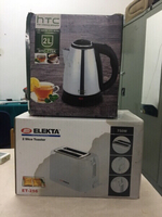 Used Electric steel Kettle and bread Toaster  in Dubai, UAE