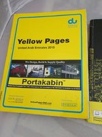 Used du and etisalat yellow page 2015 in Dubai, UAE