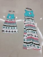 Used Mother & daughter new dresses, 3/4yo -XL in Dubai, UAE