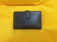 Used LV epi black french wallet in Dubai, UAE