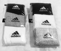 Used adidas SOCKS 6Pairs in Dubai, UAE