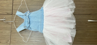Used 2dresses for girls suits till 2 years  in Dubai, UAE