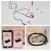 Used Headphones+2 phone covers+audio cable  in Dubai, UAE