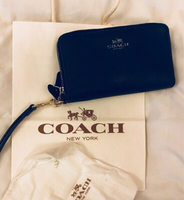 Used Authentic Coach Navy Blue Ladies Wallet in Dubai, UAE