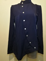 Used New navy blue semi formal shirt size M in Dubai, UAE