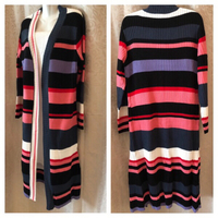 long colorful cardigan size L